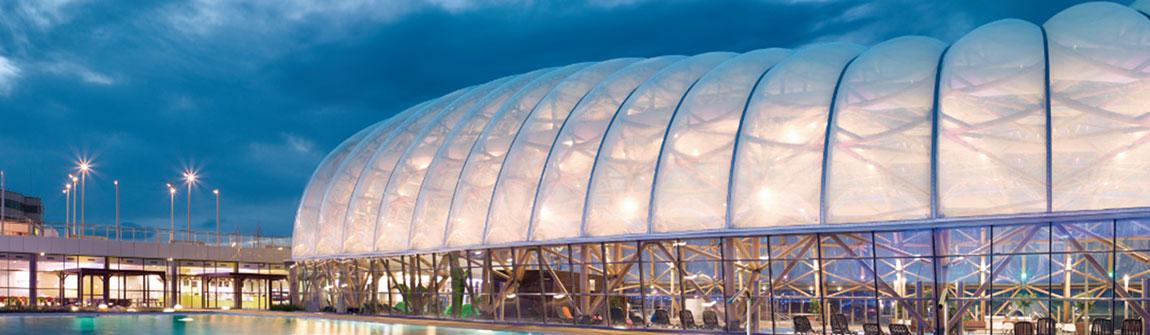 柯沃泰已然成为世界范围内膜结构建筑领域新标杆,其参与设计,生产